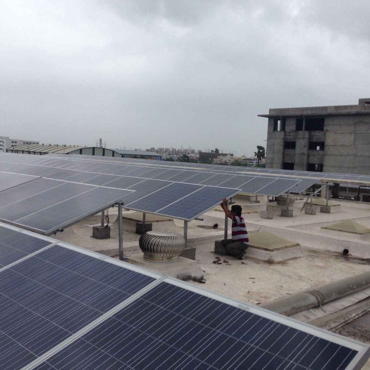 Installation of 200 KW Grid Connected Solar Project at Surat