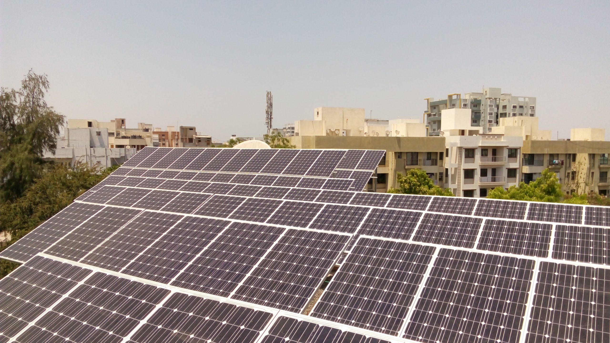 Installation of 30 KW Grid Connected Solar Rooftop Project at Jamnagar