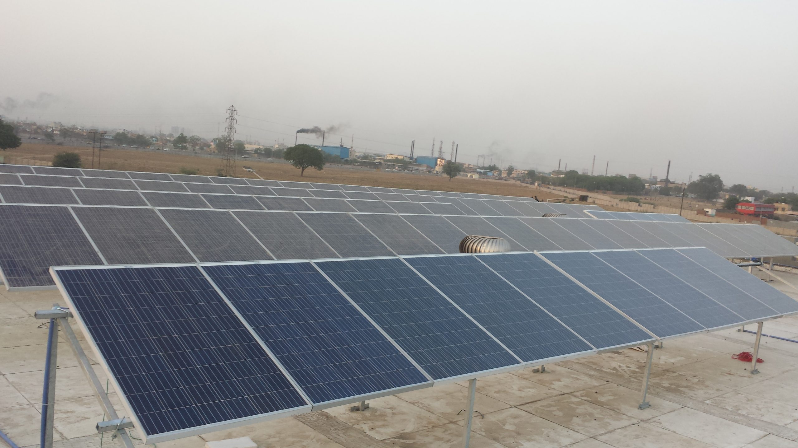 Installation of 20 KW Grid Connected Solar Rooftop Project at Ahmedabad