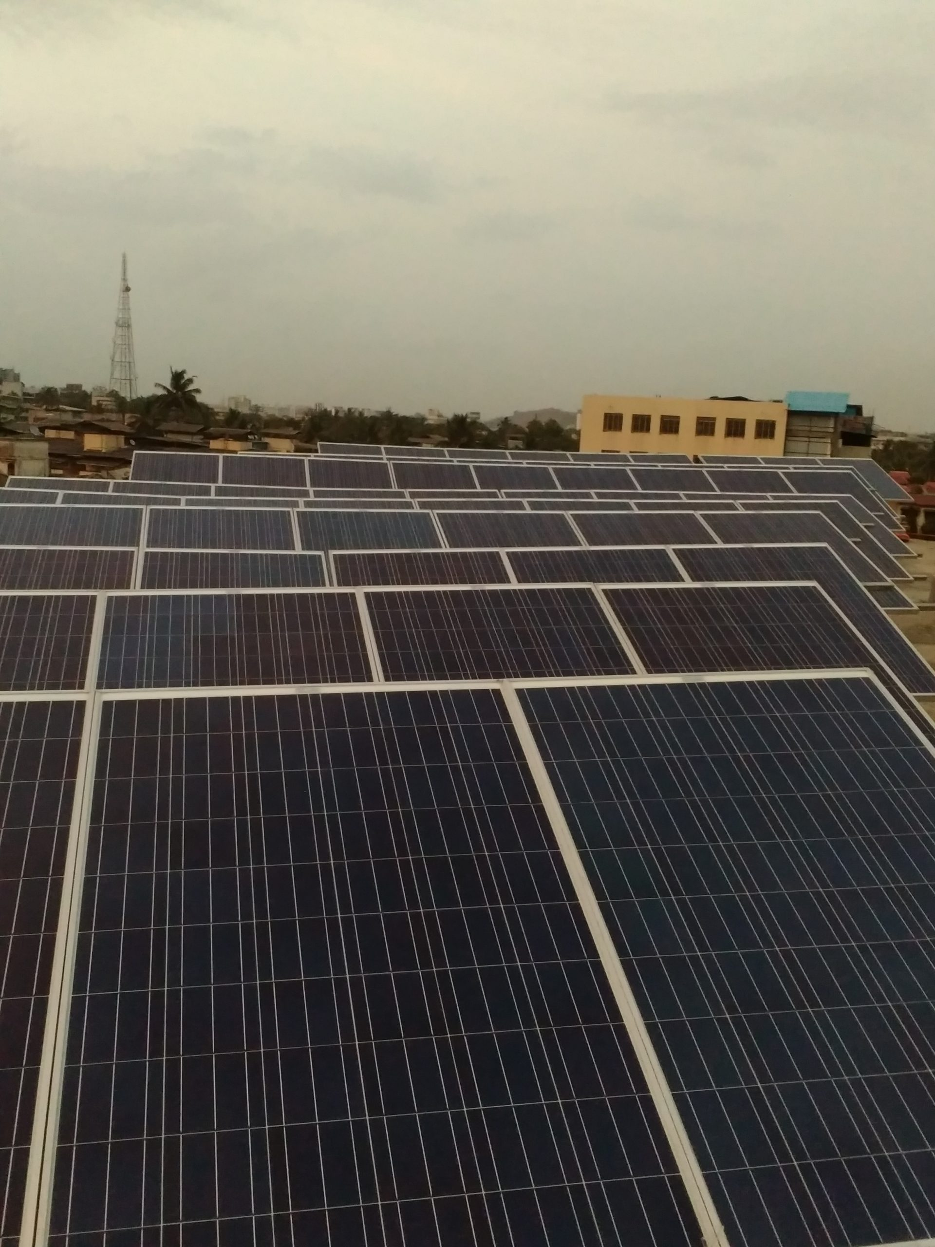 Installation of 25 KW Grid Connected Solar Rooftop Project at Mumbai