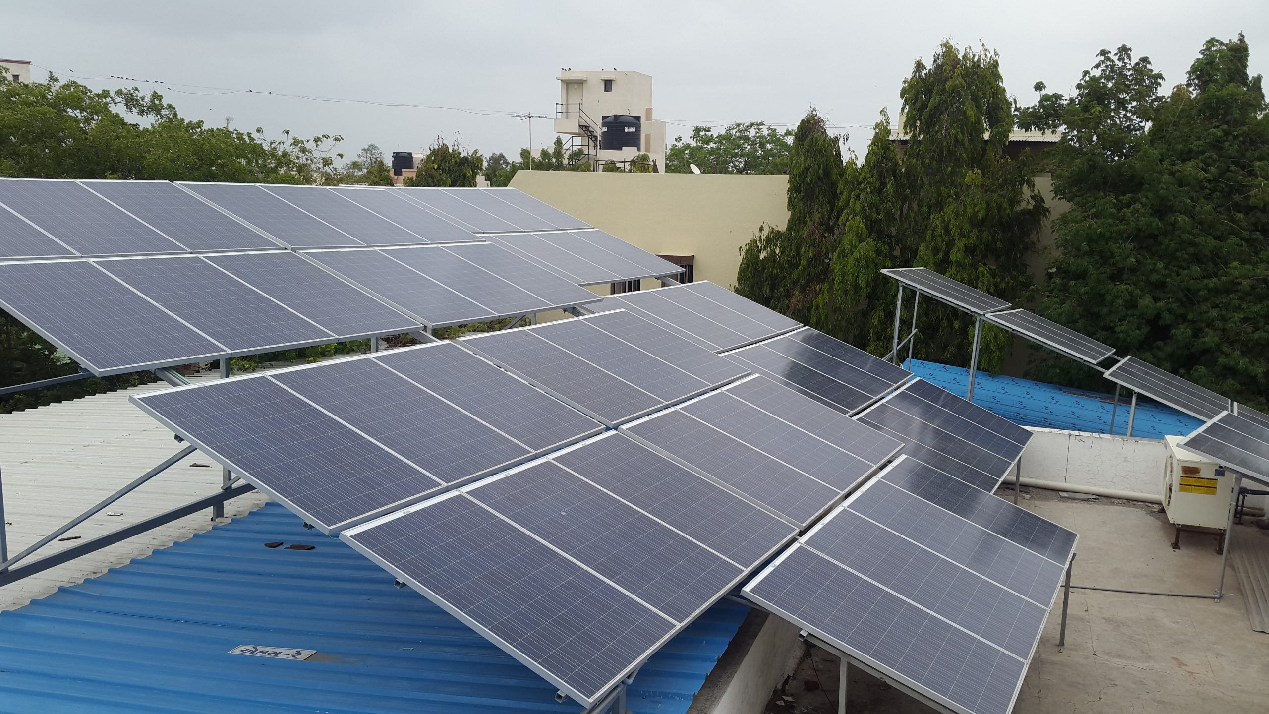 Installation of 25 KW Grid Connected Solar Rooftop Project at Rajkot