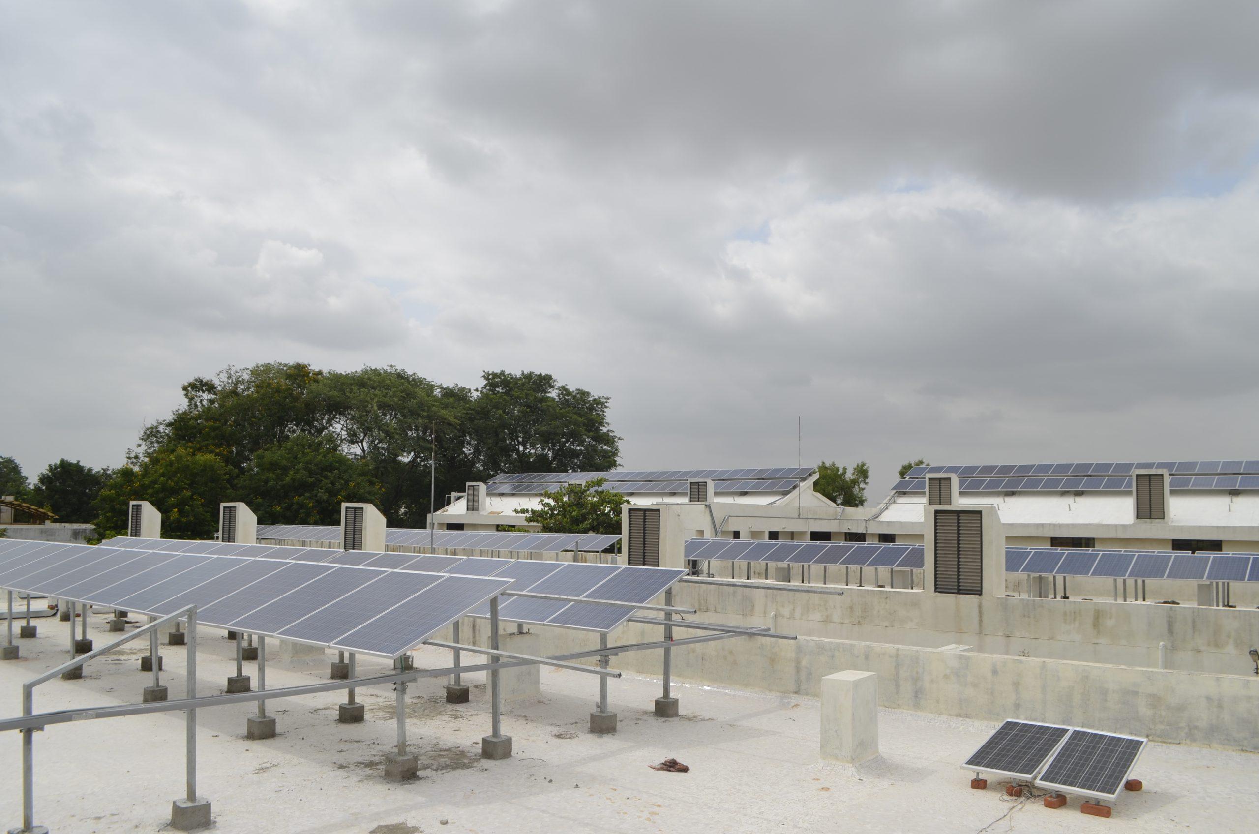Installation of 60 KW Grid Connected Solar Rooftop Project at Dantiwada, Banaskantha