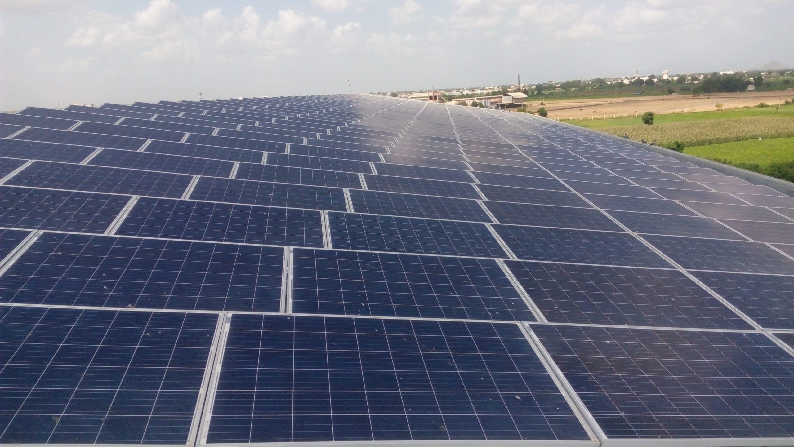 Installation of 86 KW Grid Connected Solar Rooftop Project at Deesa, Banaskantha