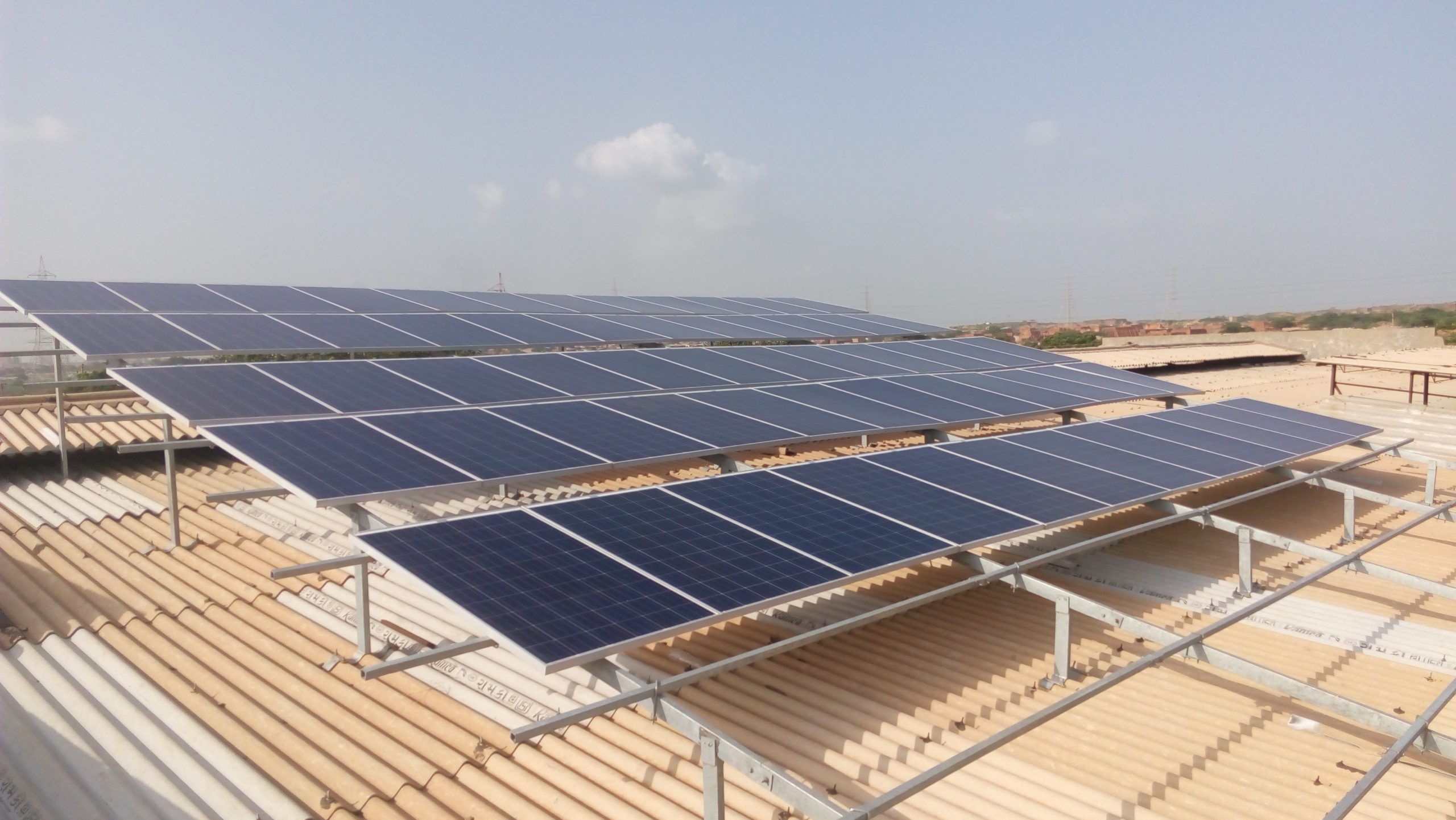 Installation of 20 KW Grid Connected Solar Rooftop Project at Morbi