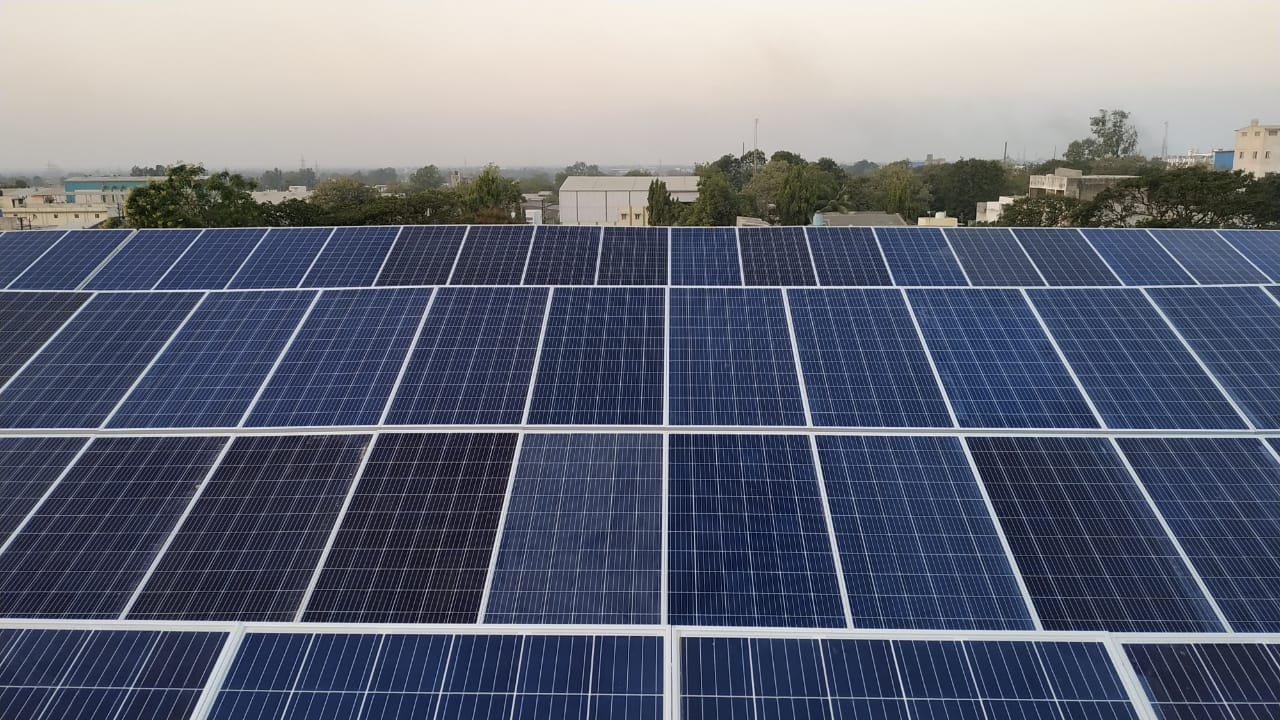 50KW On Grid Solar Rooftop Project Installed Successfully at Junagadh.