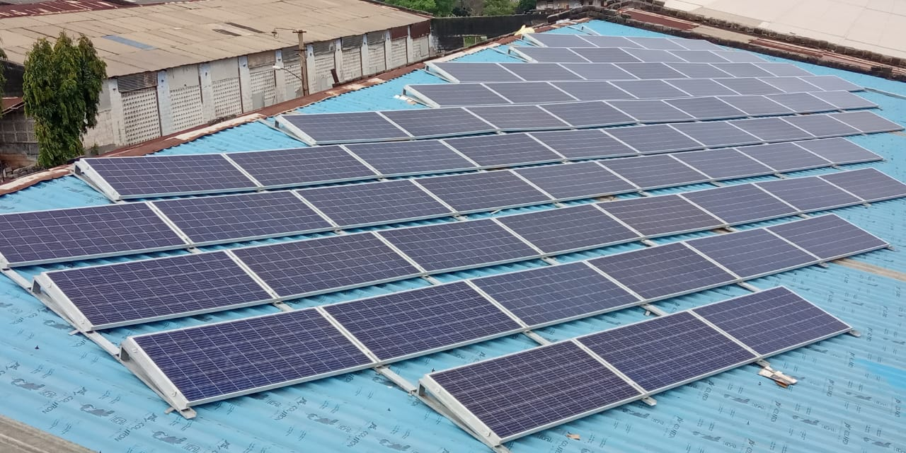 25KW Solar Rooftop Power Project