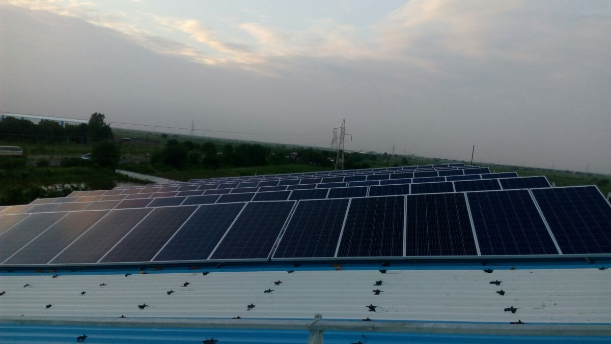 112.5KW Solar Rooftop Project