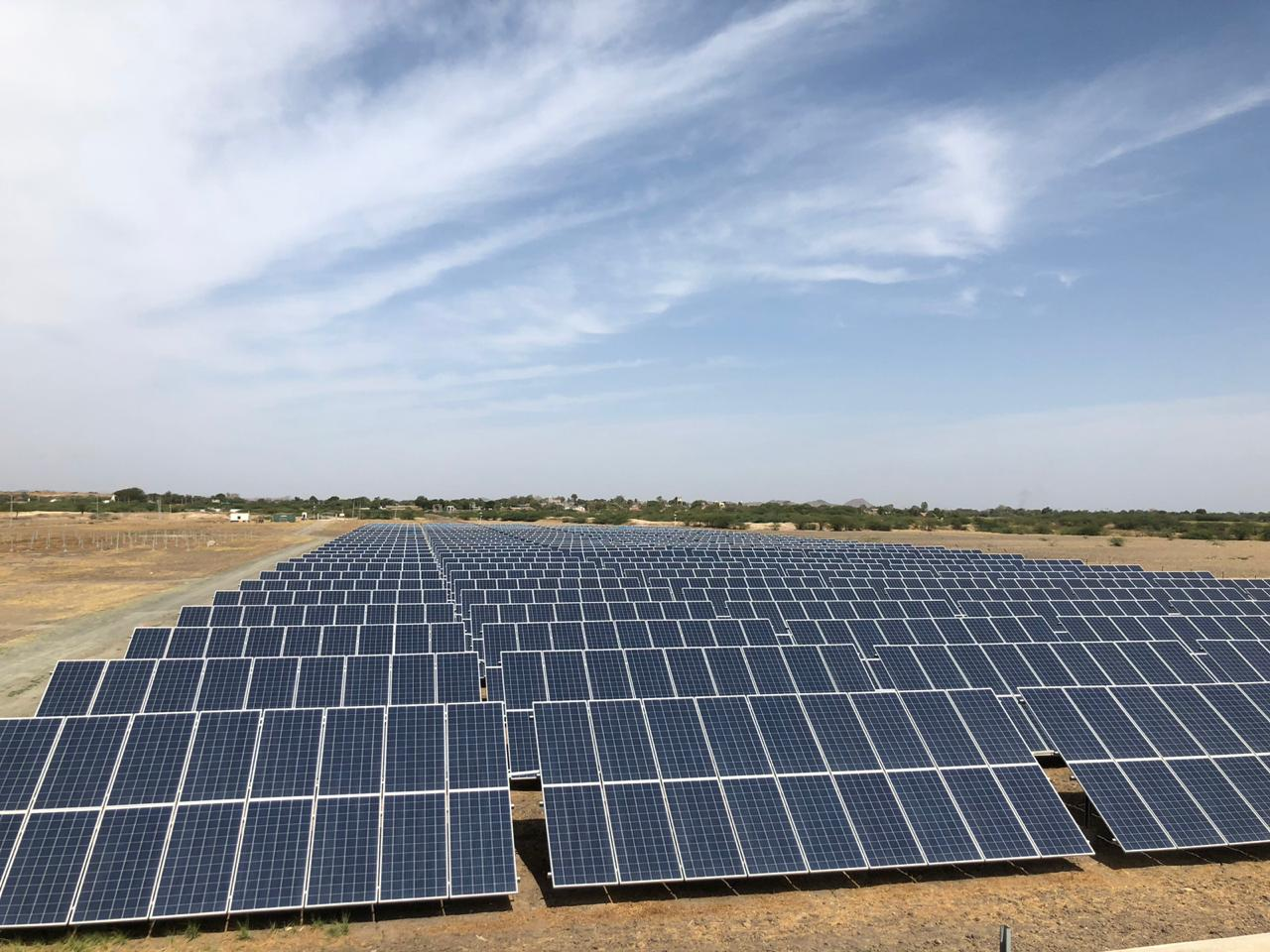 2.6MW Ground Mounted Solar Park