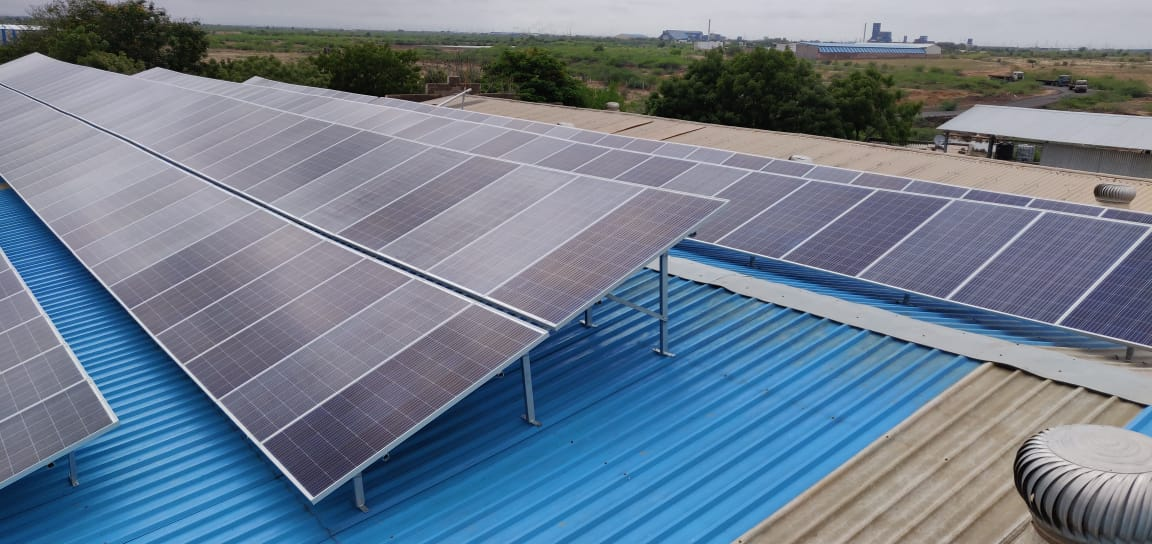 60KW Solar Rooftop Project
