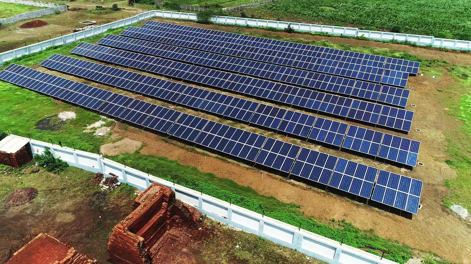 Ground Mounted Solar Park